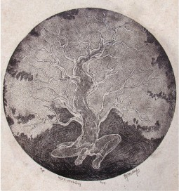 Title: 'Tree'   Medium: Aqua Tint