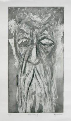 Title: 'Time' | Medium: Aluminium Etching on Paper