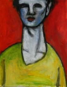 Title: 'Untitled' | Size: A3 | Medium: Gosh on Paper