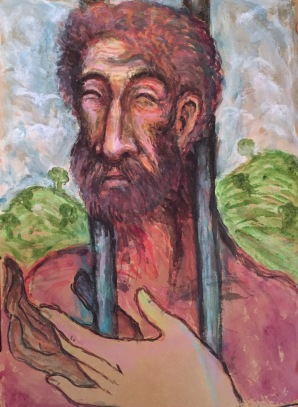 "Title: 'Prisoner of Freedom' | Size : 11.81""X16.14"" 